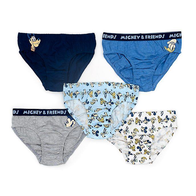 Disney Store - Micky und seine Freunde - Slips für Kinder, 5er-Pack