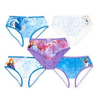 Disney Store - Die Eiskönigin2 - Slips für Kinder, 5er-Pack