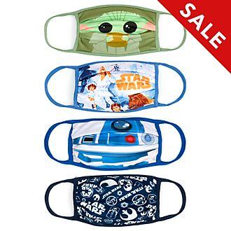 Disney Store - Star Wars - 4 Mund-Nasen-Bedeckungen