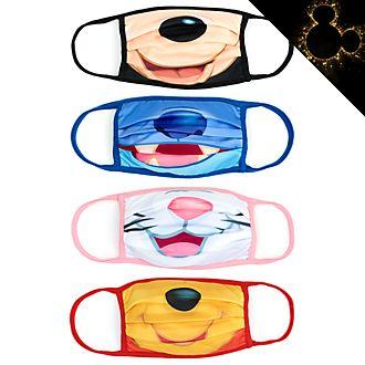 Disney Store - Klassisches Disney - 4 Mund-Nasen-Bedeckungen