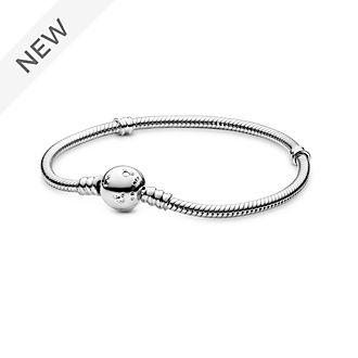 Disney X Pandora Moments Sparkling Mickey Mouse & Snake Chain Bracelet