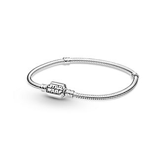 Star Wars X Pandora Moments Star Wars Snake Chain Clasp Bracelet