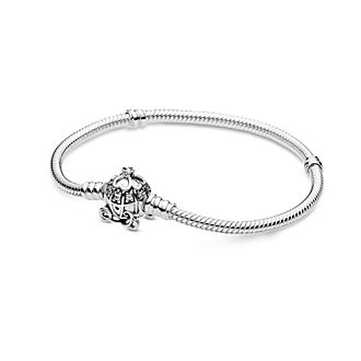Disney X Pandora Cinderella Pumpkin Coach Clasp Pandora Moments Bracelet