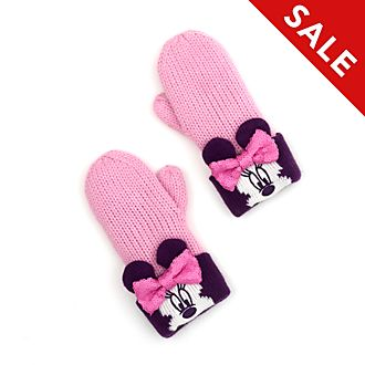 Disney Store Minnie Mouse Mittens For Kids