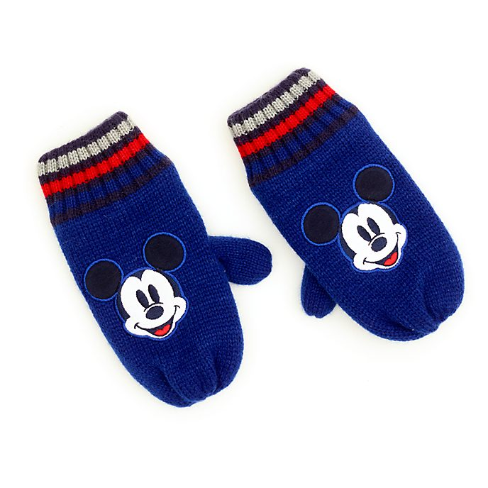 Disney Store Mickey Mouse Mittens For Kids