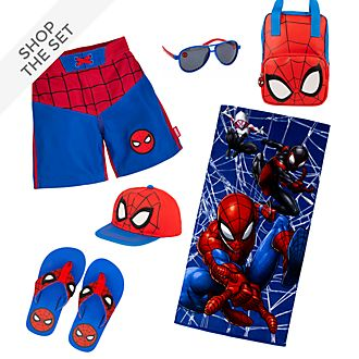 Disney Store Spider-Man Summer Collection For Kids