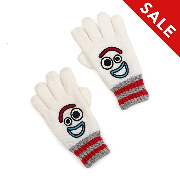 Disney Store Forky Gloves For Kids, Toy Story 4