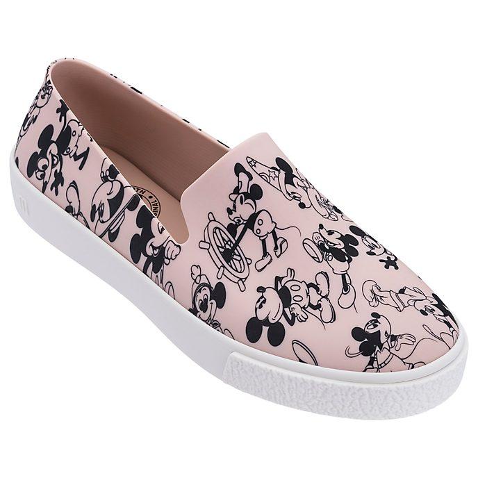 Scarpe senza lacci rosa adulti Topolino