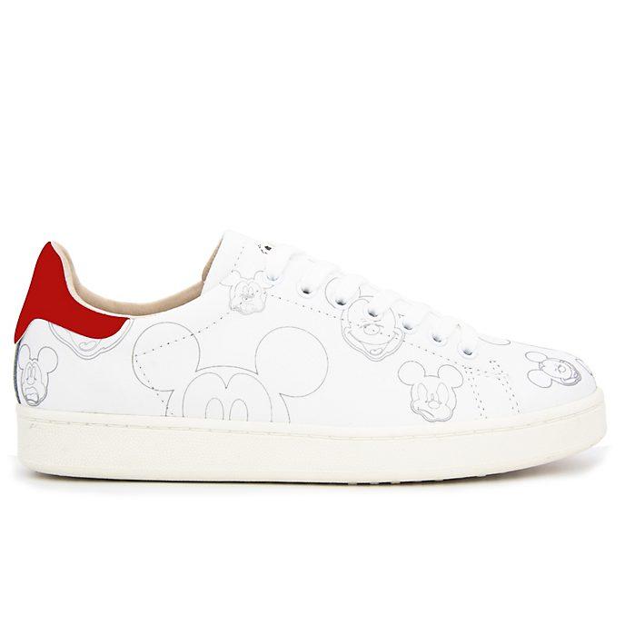 Deportivas blancas y rojas Mickey Mouse para adultos, Master of Arts