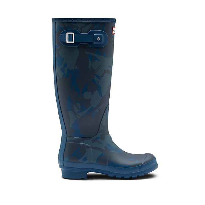 Hunter botas caña alta Wellington adultos en azul El regreso de Mary Poppins