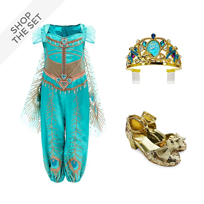 Disney Store Princess Jasmine Costume Collection For Kids, Aladdin
