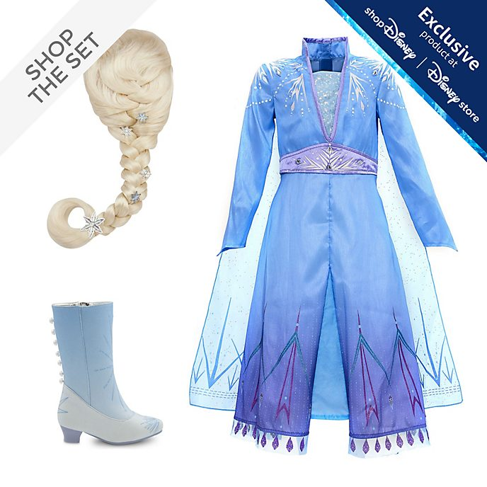 Disney Store Elsa Costume Collection For Kids, Frozen 2