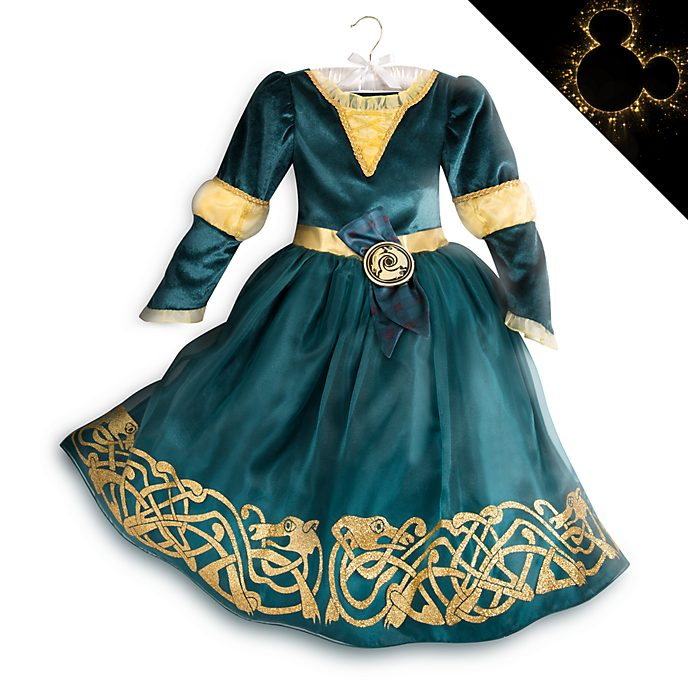 Disney Store Merida Costume For Kids, Brave