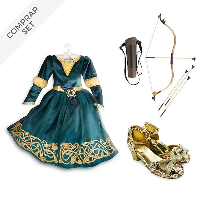 Conjunto disfraz infantil Mérida, Brave, Disney Store