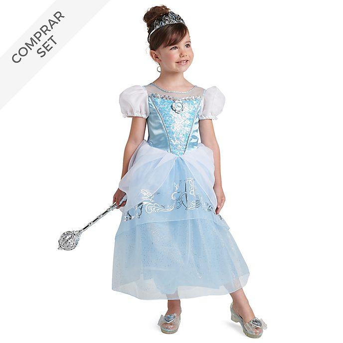 Conjunto disfraz infantil La Cenicienta, Disney Store