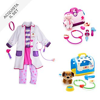Collezione costume bimbi Dottoressa Peluche Disney Store