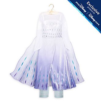 Disney Store Elsa the Snow Queen Deluxe Costume For Kids, Frozen 2