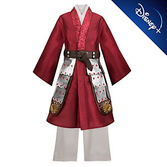 Disney Store Mulan Deluxe Costume For Kids