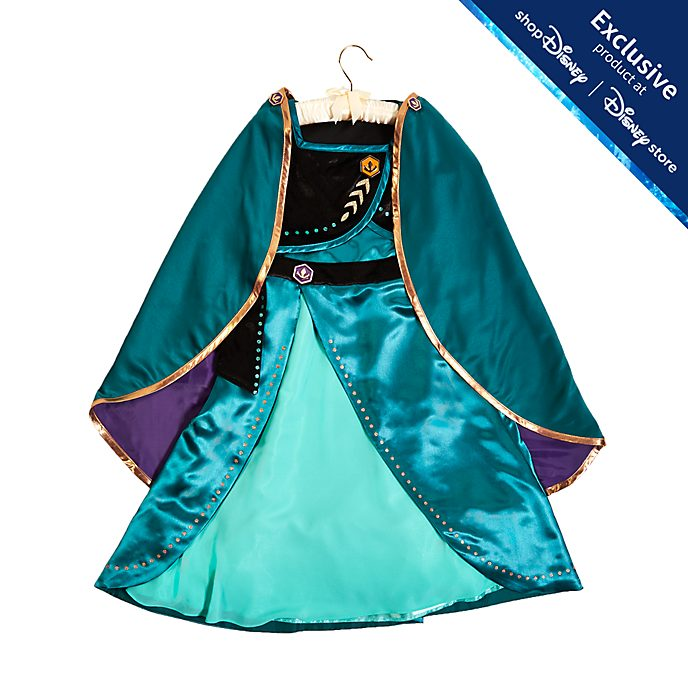Disney Store Queen Anna Costume For Kids, Frozen 2