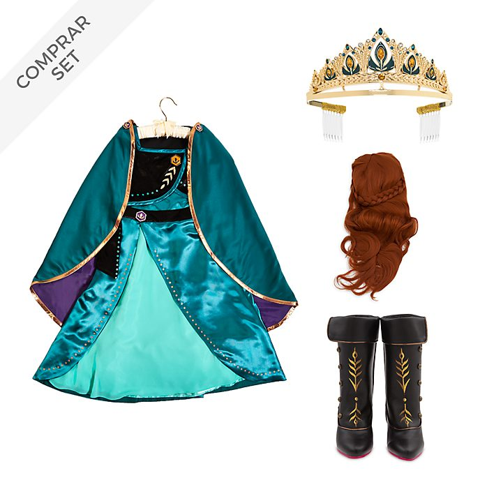 Conjunto disfraz infantil Reina Anna, Frozen 2, Disney Store