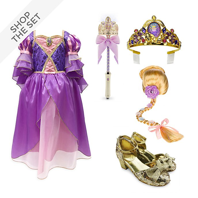 Disney Store Rapunzel Costume Collection For Kids, Tangled