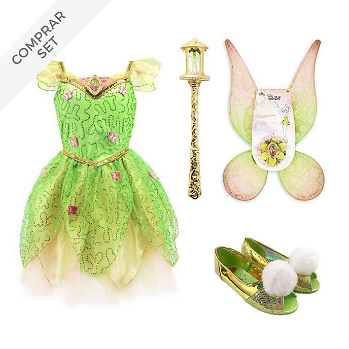 Conjunto disfraz infantil Campanilla, Peter Pan, Disney Store