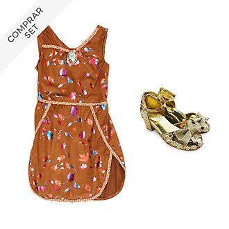 Conjunto disfraz infantil Pocahontas, Disney Store