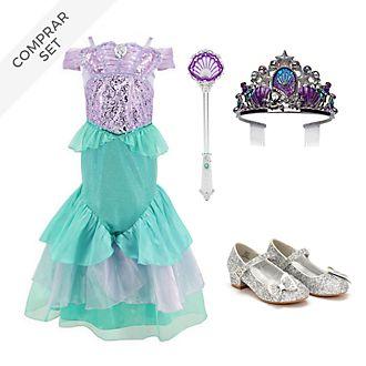 Conjunto disfraz infantil La Sirenita, Disney Store