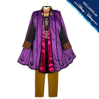 Disfraz infantil viaje Anna exclusivo, Frozen 2, Disney Store