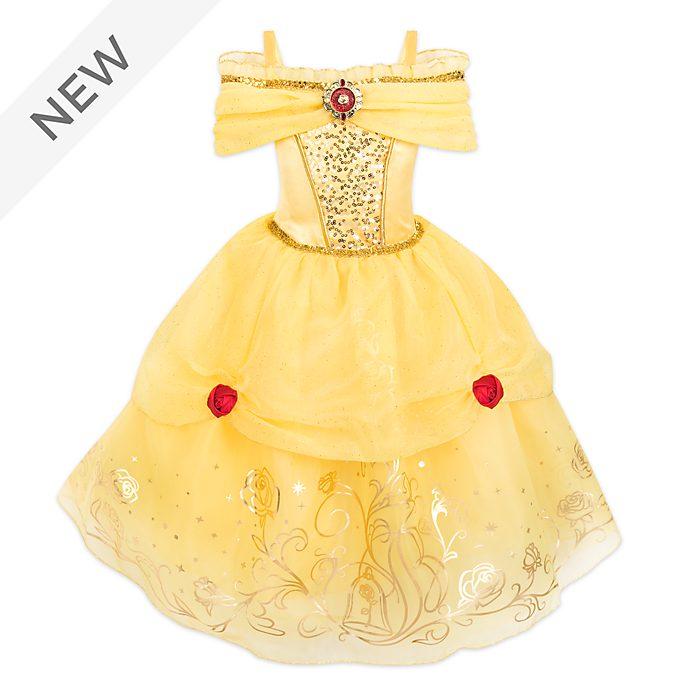 Disney Store Belle Foil Print Costume For Kids