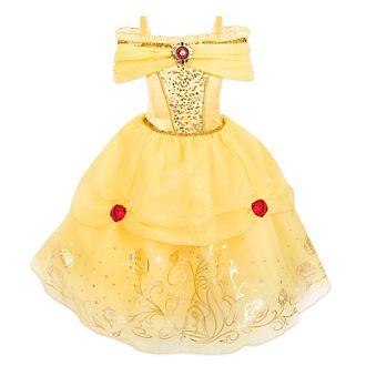 Disney Store Déguisement Belle imprimé métallisé pour enfants, La Belle et la Bête