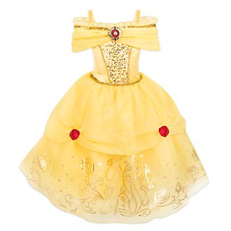 Disney Store Belle Foil Print Costume For Kids