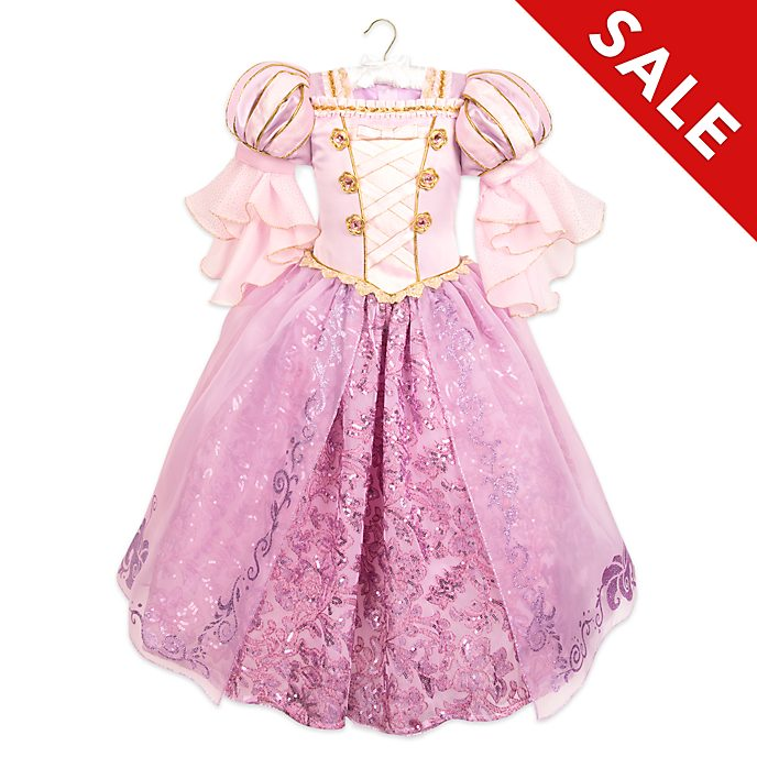 Disney Store Rapunzel Deluxe Costume For Kids, Tangled