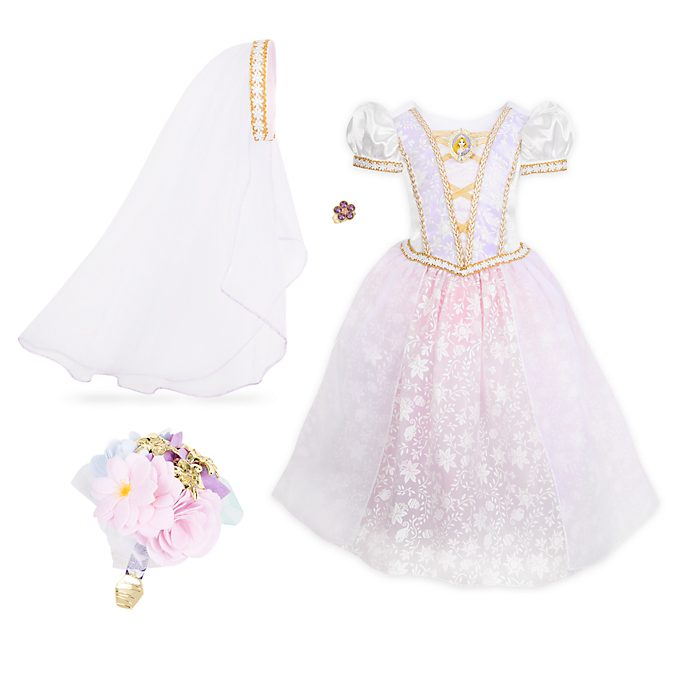 Disney Store Rapunzel Wedding Dress Costume For Kids