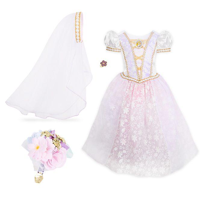 Disfraz infantil vestido de boda Rapunzel, Disney Store