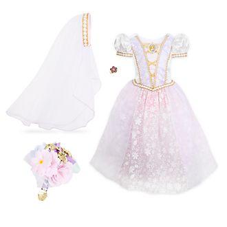 Disney Store Rapunzel Wedding Dress Costume For Kids