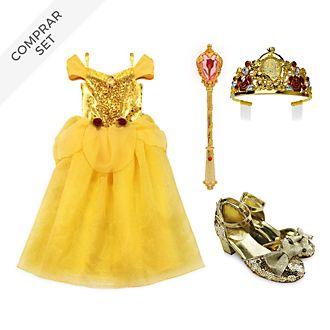 Conjunto disfraz infantil Bella, La Bella y la Bestia, Disney Store