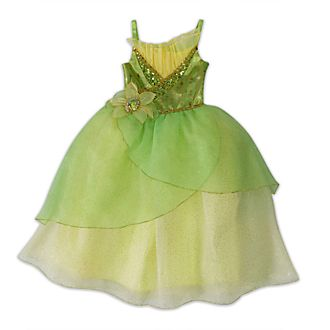 Disney Store Tiana Costume For Kids, The Princess and the Frog