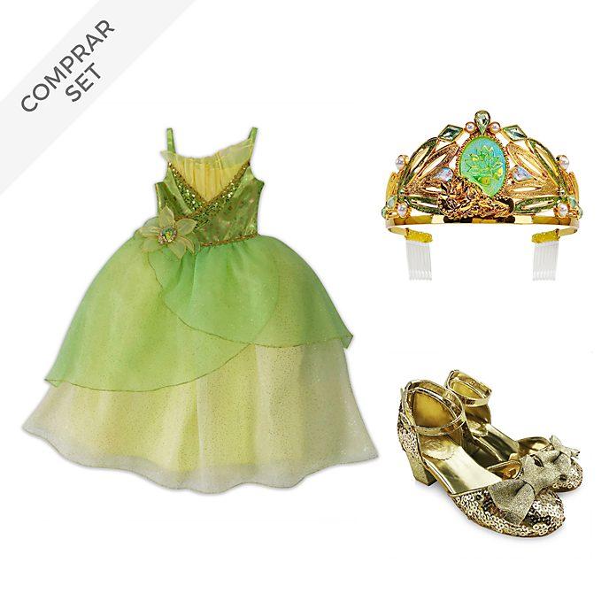 Conjunto disfraz Tiana, Tiana y el Sapo, Disney Store