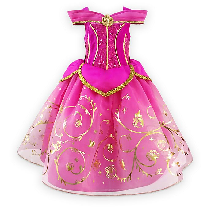 Disney Store Aurora Deluxe Costume For Kids, Sleeping Beauty