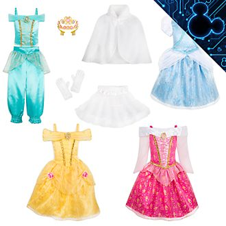 Colección disfraces infantiles princesas Disney, Disney Store