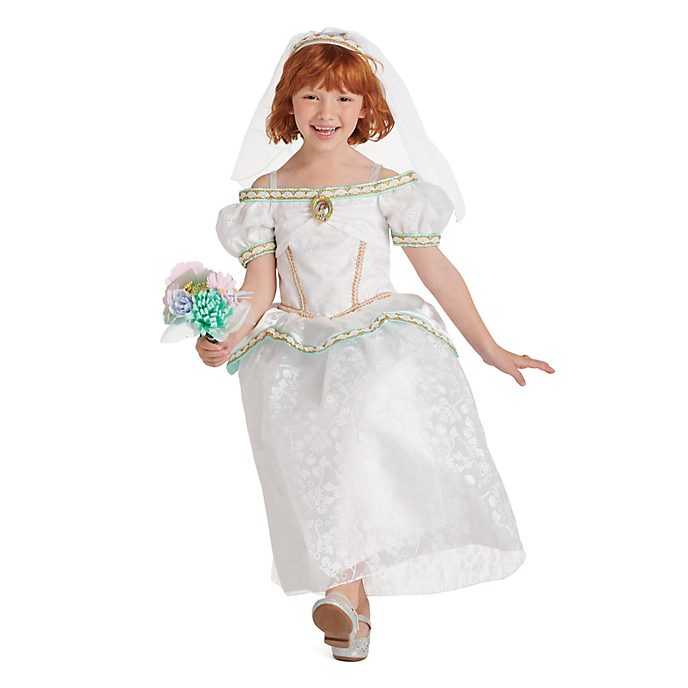 Disney Store The Little Mermaid Wedding Dress Costume For Kids