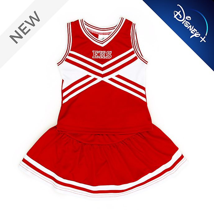 Disney Store East High School Cheerleader Costume For Kids