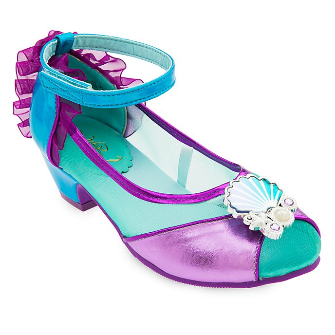 Disney Store The Little Mermaid Costume Shoes For Kids