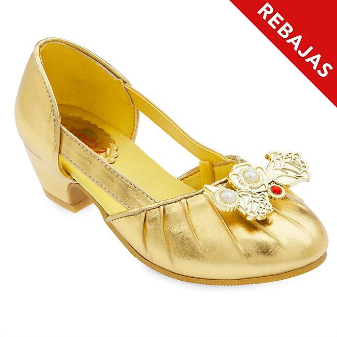 Zapatos disfraz infantil Bella, Disney Store