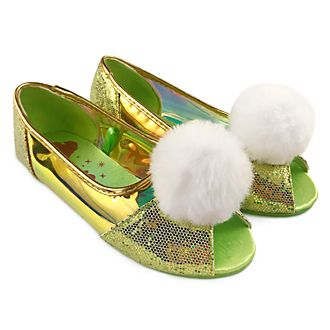 Zapatos para disfraz infantil Campanilla, Disney Store