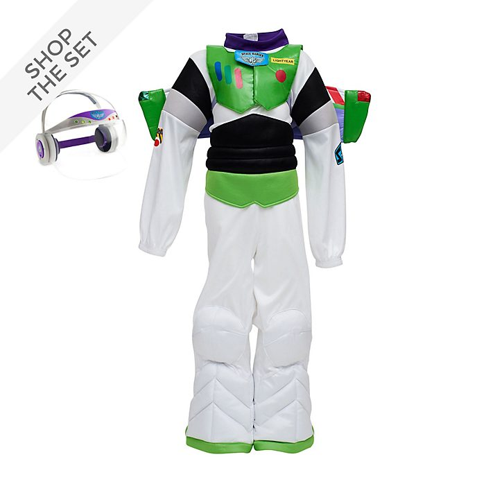 Disney Store Buzz Lightyear Costume Collection For Kids, Toy Story