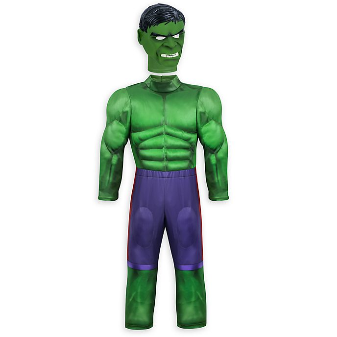 Disney Store Hulk Costume For Kids
