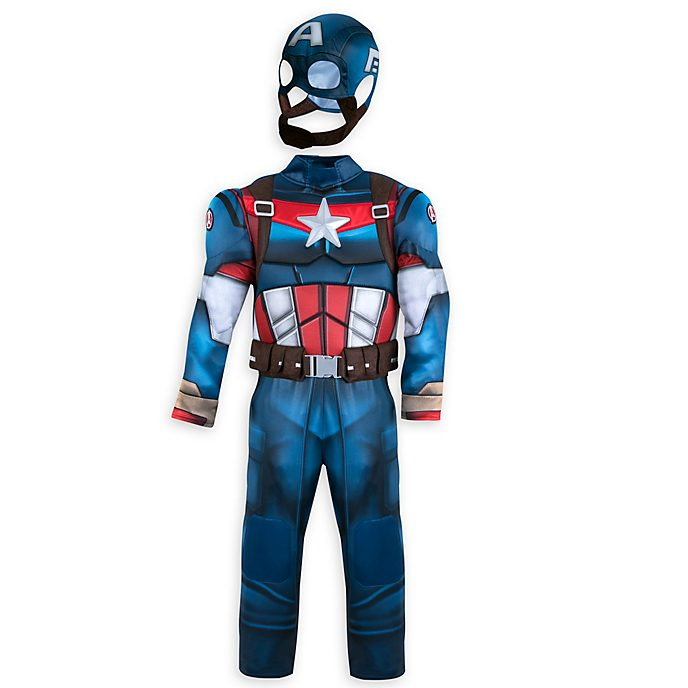 Disney Store Captain America Costume For Kids