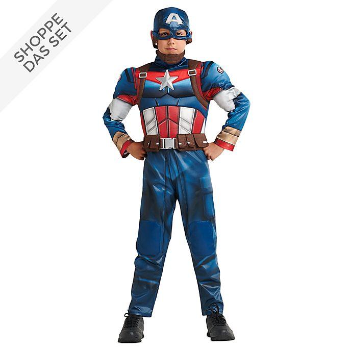 Disney Store - Captain America - Kostümset für Kinder